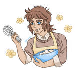 RW: Cye is cooking ~~~ by neodactylus
