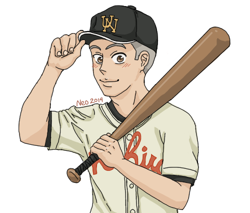 Oofuri: Hanai with a Bat by omni-time