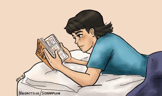 Nori Reading by neodactylus
