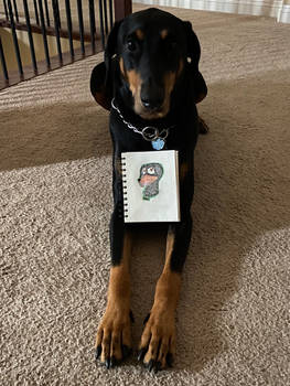 Real and Fictional Dobermans