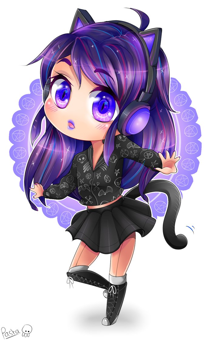 Cat Girl Anime Skins