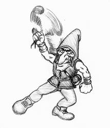 Gauntlet lobber sketch