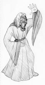 Gauntlet sorcerer sketch