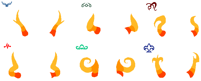 More Fantroll Horns And Symbols Free By Deaderidan On