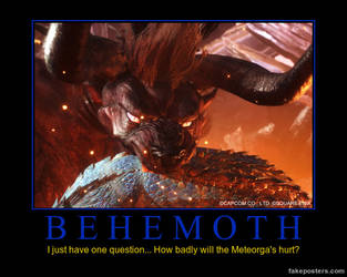 Behemoth Demotivational by DeREXslayer