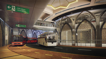 Makka Gate Transit Center by M-Salman