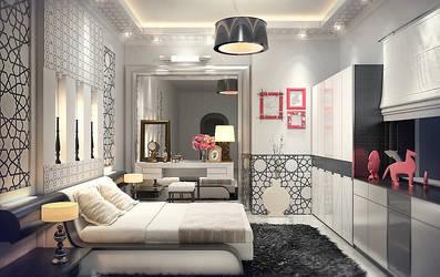 Bedroom - Girl - by M-Salman
