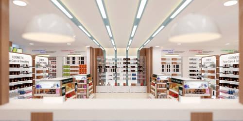 Outpatient Pharmacy Design 01 by M-Salman