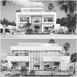 Coast Villa Design 01 by M-Salman