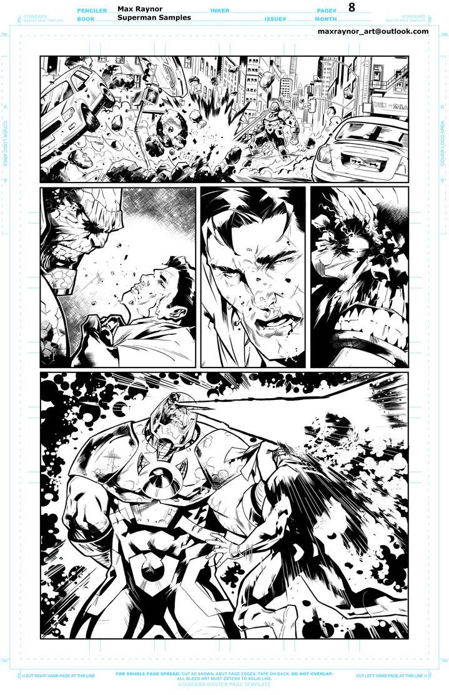 Superman samples PG8 by Peskykid