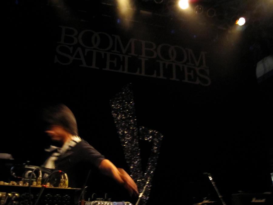 Boom Boom Satellites Boom Boom Satellites Pre Show by Dead4me