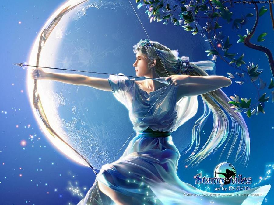 goddess Artemis by TFSDBZA