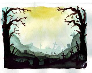 Cemetery by unseeninside