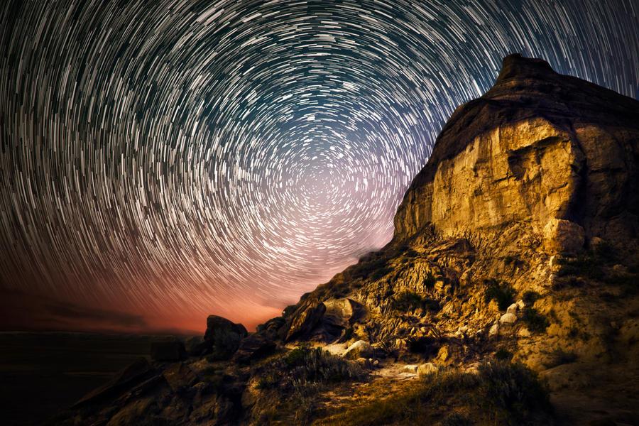 Castle Butte by lightsoutwordsgone