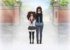 Tsubasa and Tsubaki