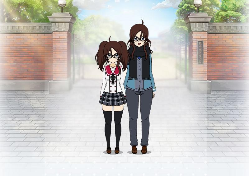 Tsubasa and Tsubaki by Robianna07
