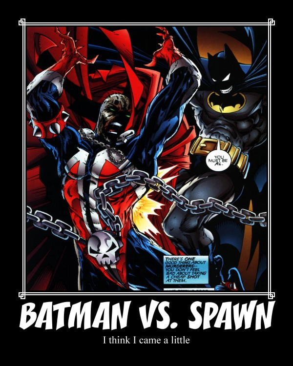 Batman Vs Spawn By JennySheldonluver