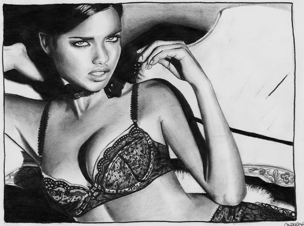 Adriana Lima by miss-fetus-cock-slap