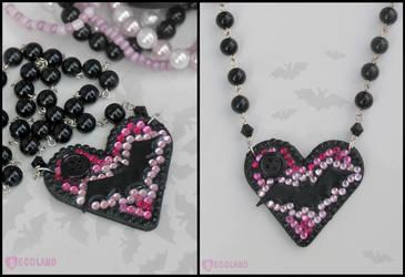 Deco Bat necklace by decoland