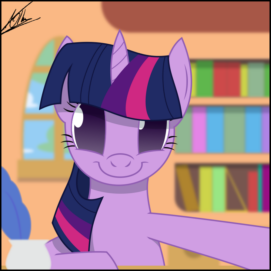 Selfphoto - Twilight Sparkle by thedeseasedcow