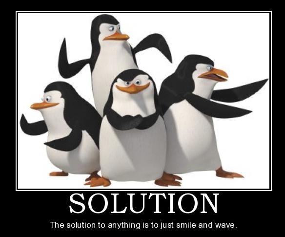 Madagascar Penguin Meme