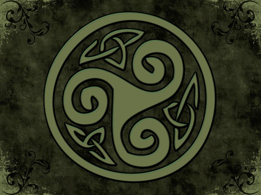 Celtic In Sage By Skandyl