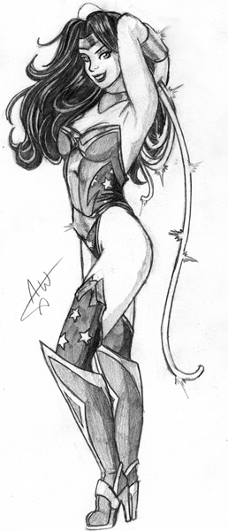 Wonder Woman by Jackwrench