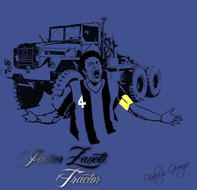 Javier Zanetti By Eowang On DeviantArt