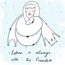 Edrac as a nice scarf ( by carde-app.com )