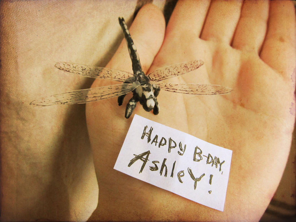 Happy Birthday Ashley!! by Obman-Veschestv