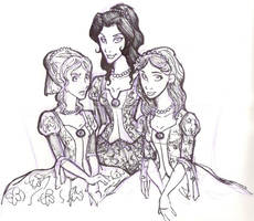 The Black Sisters by thirty-six