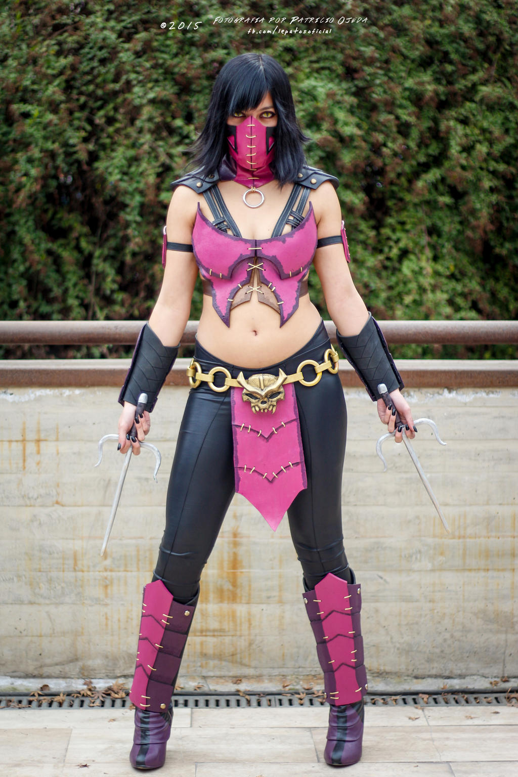 Mileena - Mortal Kombat X Cosplay by HaruruYin on DeviantArt Сузи Косплей