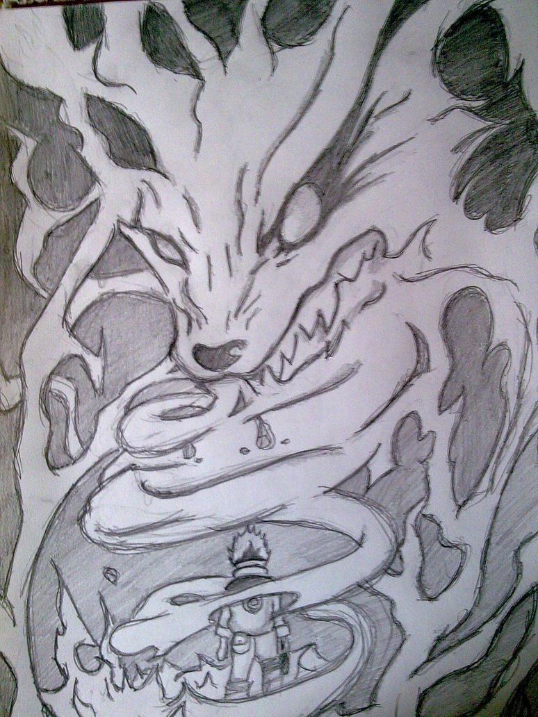 Naruto, Nine Tails by Kalana321 on DeviantArt