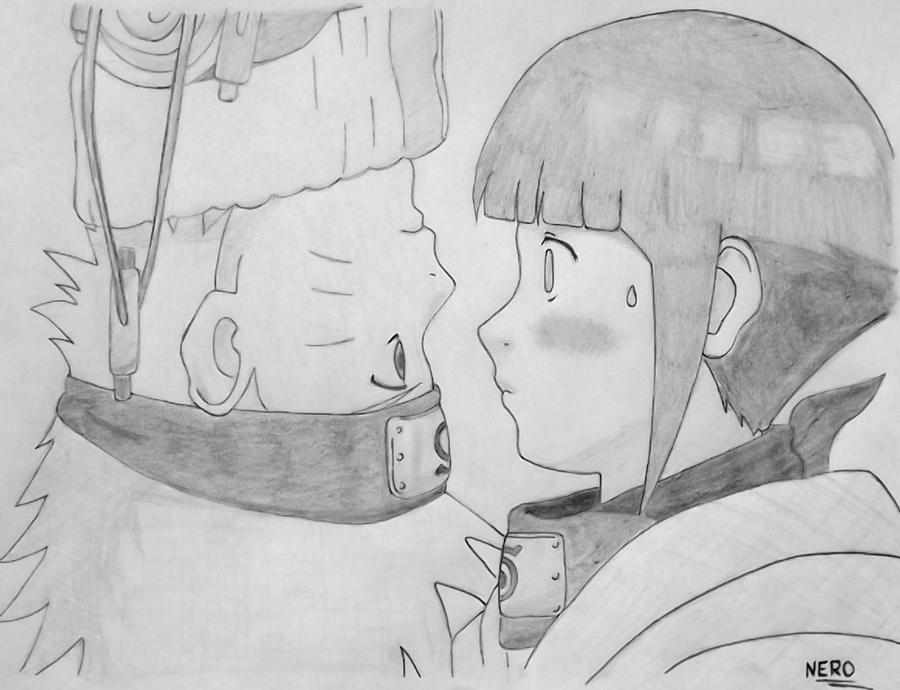 Naruto and Hinata by ParagonNero