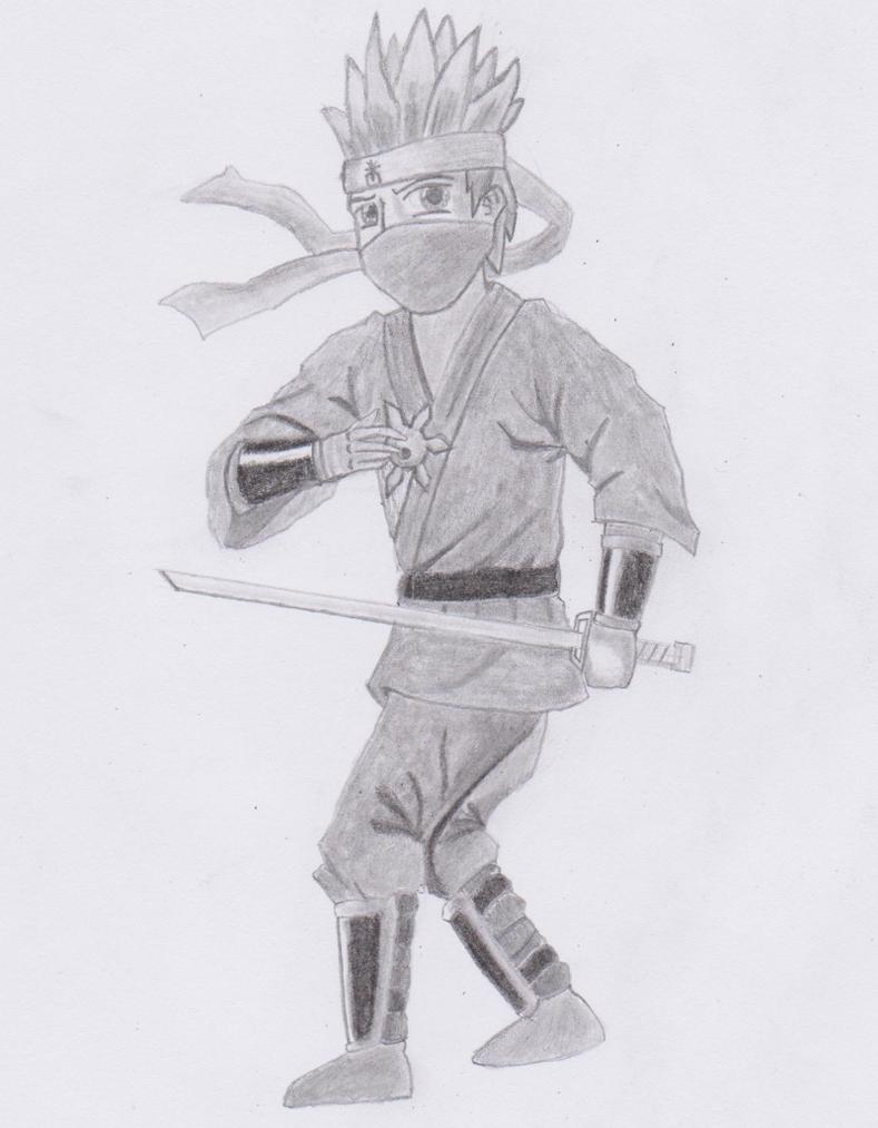 Dessin Ninja by DarkAnoth on DeviantArt