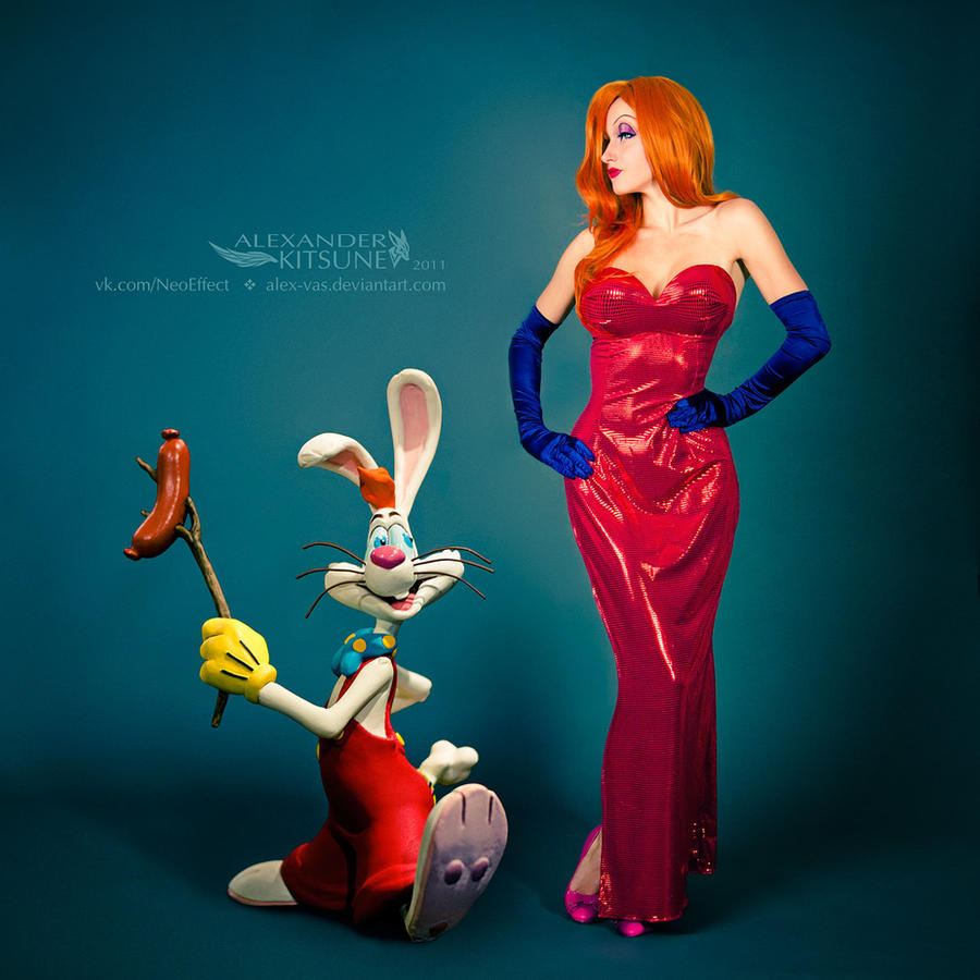 Jessica and Roger Rabbit by diacita