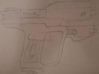 Halo Pistol by SolidWolff