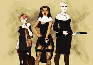 Sisters Salvation, Rebel Outlaw, and Shotgun