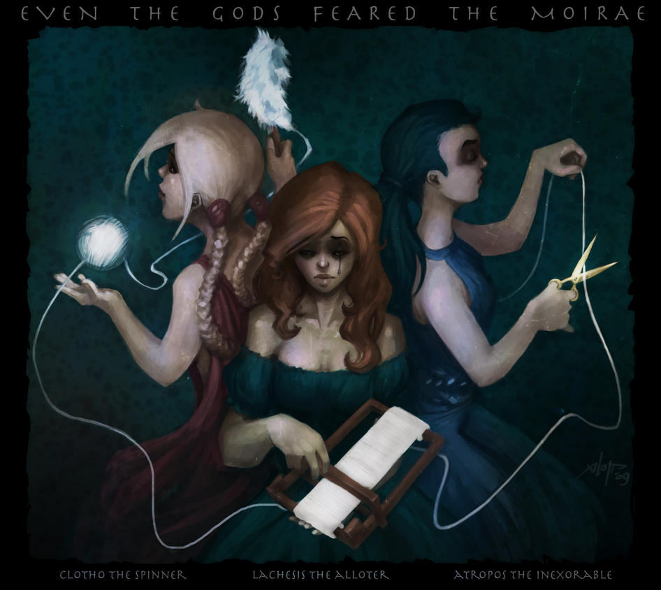 The Moirae by xlopp