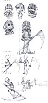 Shini Weakness Character Concept