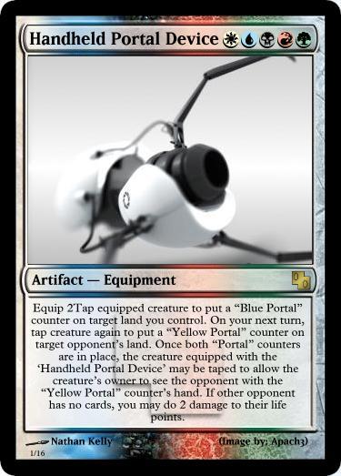 Magic Portal Device by Talik13