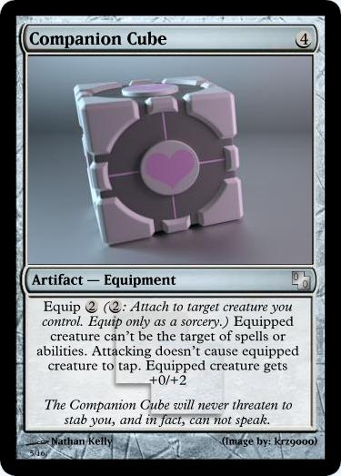 Magic Companion Cube by Talik13