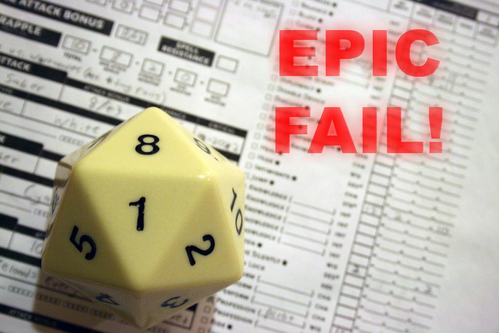 EPIC FAIL by Talik13