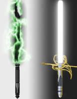 Yin and Yang Lightsabers 2 V 2 by Talik13