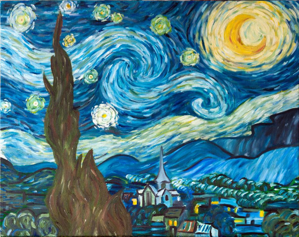 Starry Night Sky by Talik13