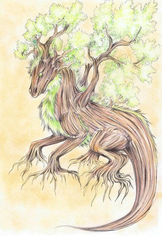 drzewniety smok by Drrrakonis