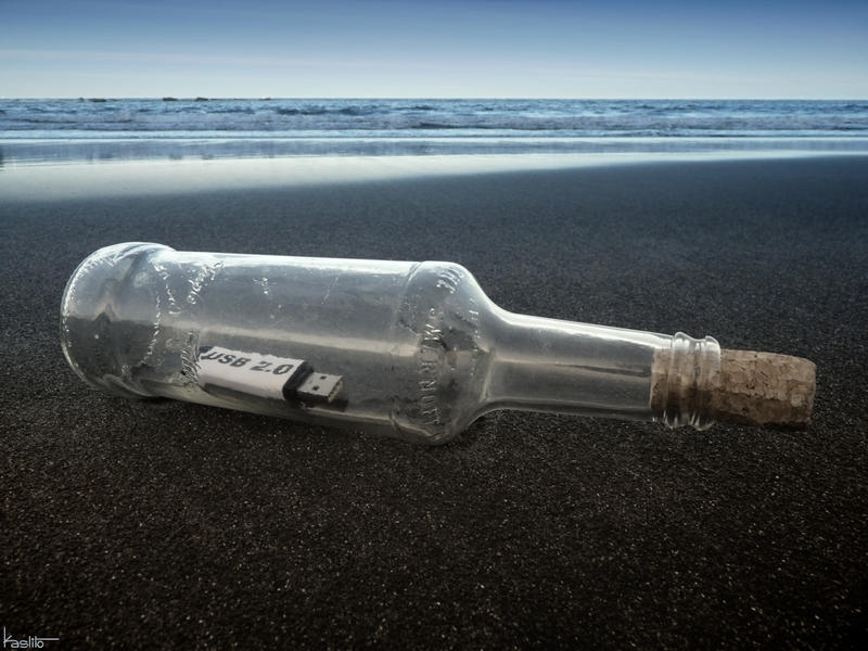 Message in a bottle 2.0 by Kaslito