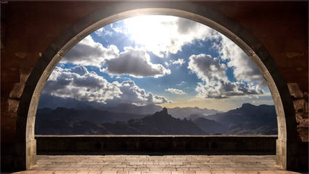 Arched scape
