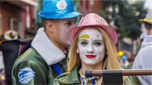 Carnival girl by Kaslito