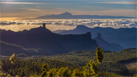 From the highest point of Gran Canaria Island